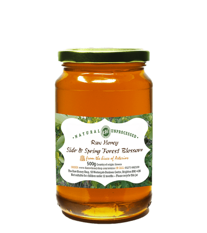 Raw Sidr & Spring Forest Blossom Honey - 500g