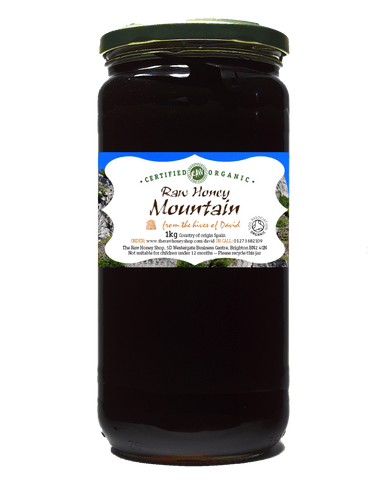 Raw Organic Mountain Honey - 1kg