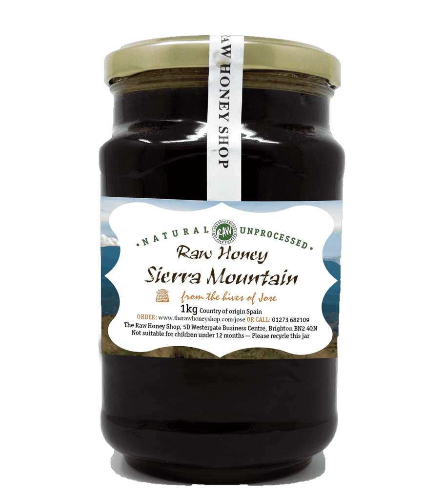 Raw Sierra Mountain Honey - 1kg