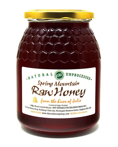 Raw Spring Mountain Honey - 1kg