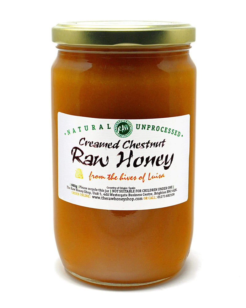 Raw Creamed Chestnut Honey - 5kg