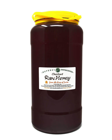 Pure and Natural Raw Chestnut Honey - 5kg - The Raw Honey Shop