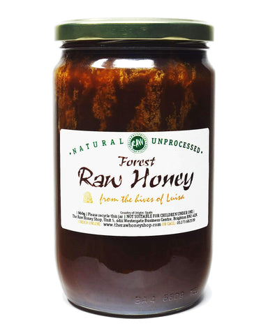 Pure and Natural Raw Forest Honey - 960g - The Raw Honey Shop