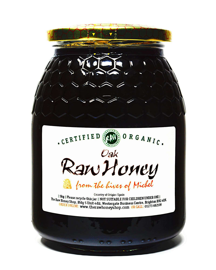 Raw Organic Oak Honey - 1kg