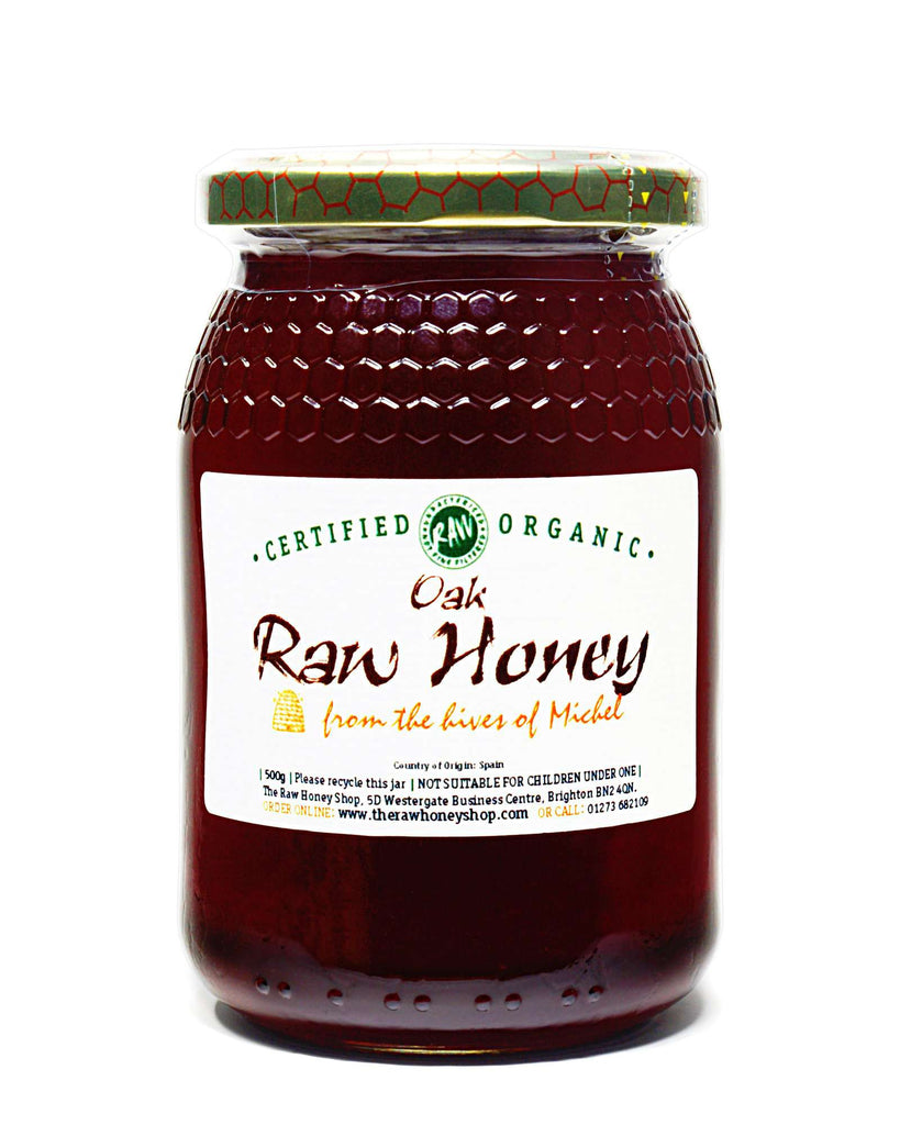 Raw Organic Oak Honey - 500g