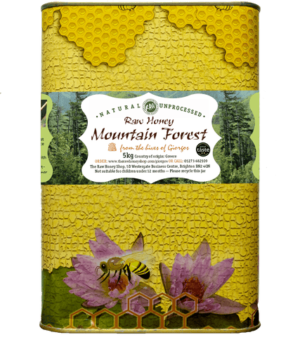 Raw Mountain Forest Honey - 5kg