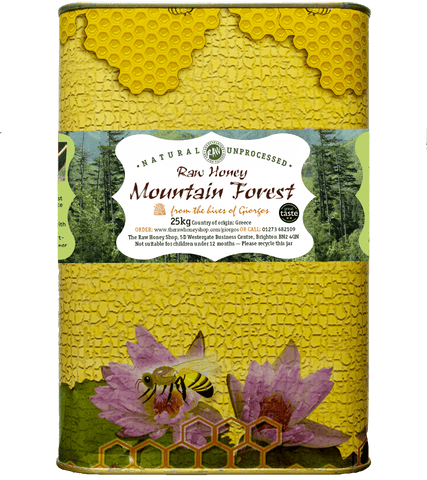 Raw Mountain Forest Honey - 25kg