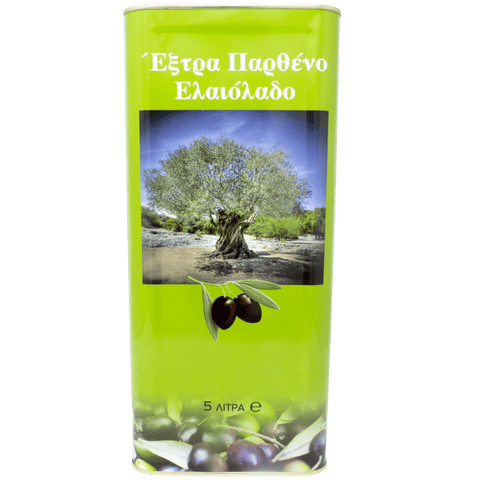Pure and Natural Spyros' Artesan Extra Virgin Olive Oil - 5L (newly pressed) - The Raw Honey Shop