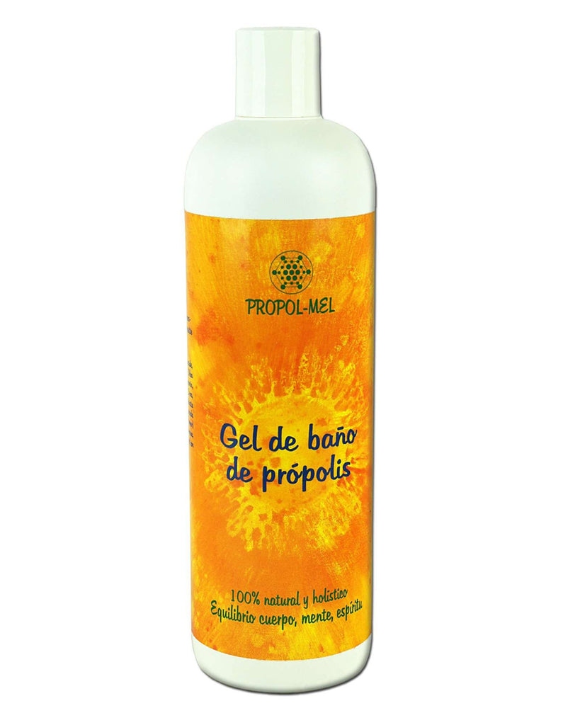 Pure and Natural All-Natural Bath Gel with Certified Organic Propolis - The Raw Honey Shop