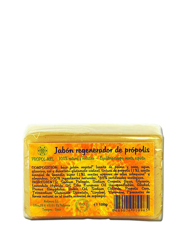 Pure and Natural All-Natural Bar Soap with Certified Organic Propolis - The Raw Honey Shop