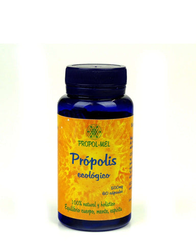 Pure and Natural All-Natural Certified Organic Propolis Extract Capsules - The Raw Honey Shop