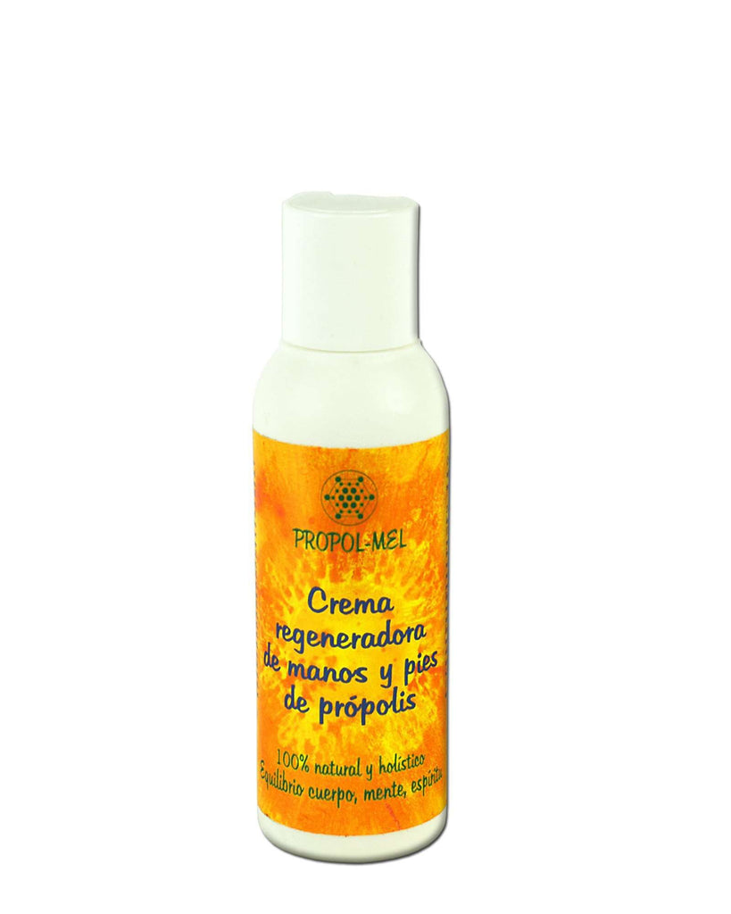Pure and Natural All-Natural Hand and Foot Cream with Certified Organic Propolis - The Raw Honey Shop