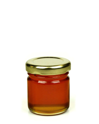 Pure and Natural Raw Carob Honey - 50g Tester - The Raw Honey Shop