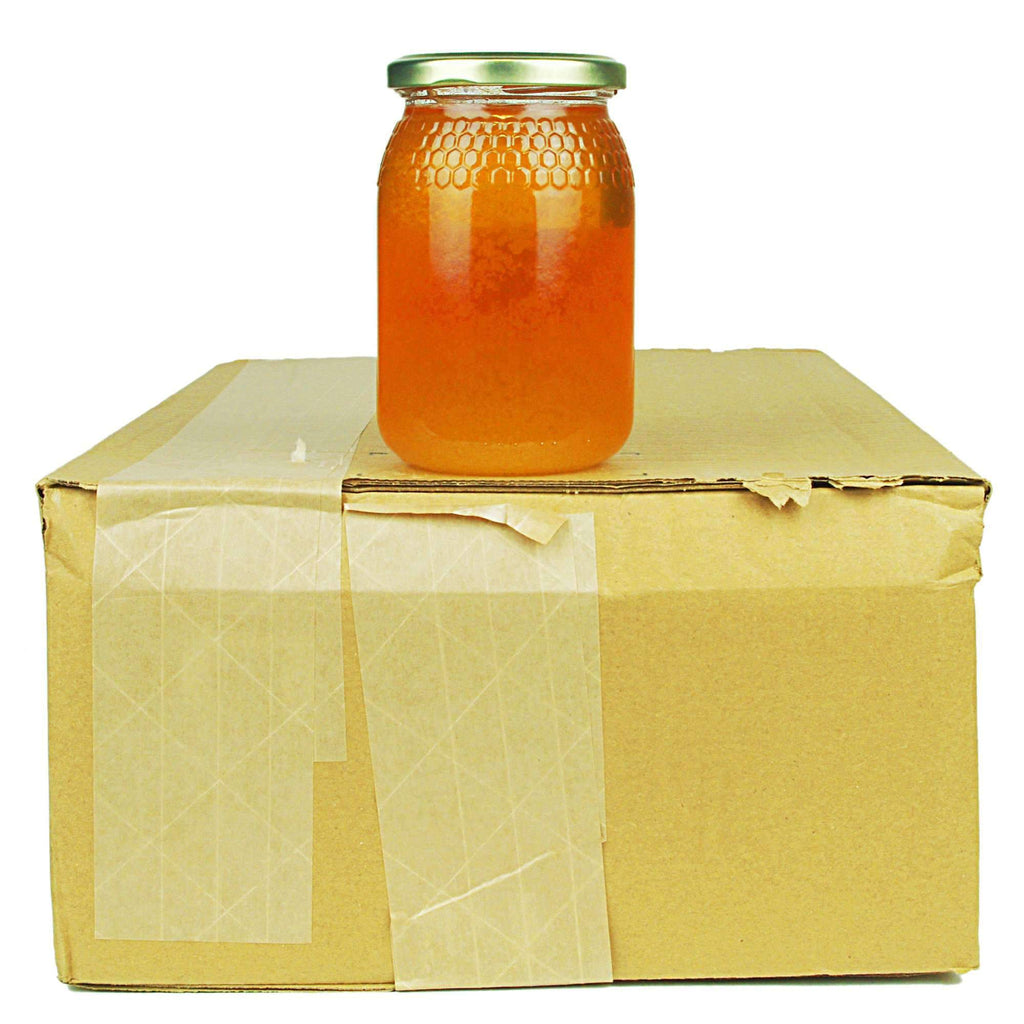 Pure and Natural Bargain Box: Raw Rosemary Honey - 12 x 500g - The Raw Honey Shop