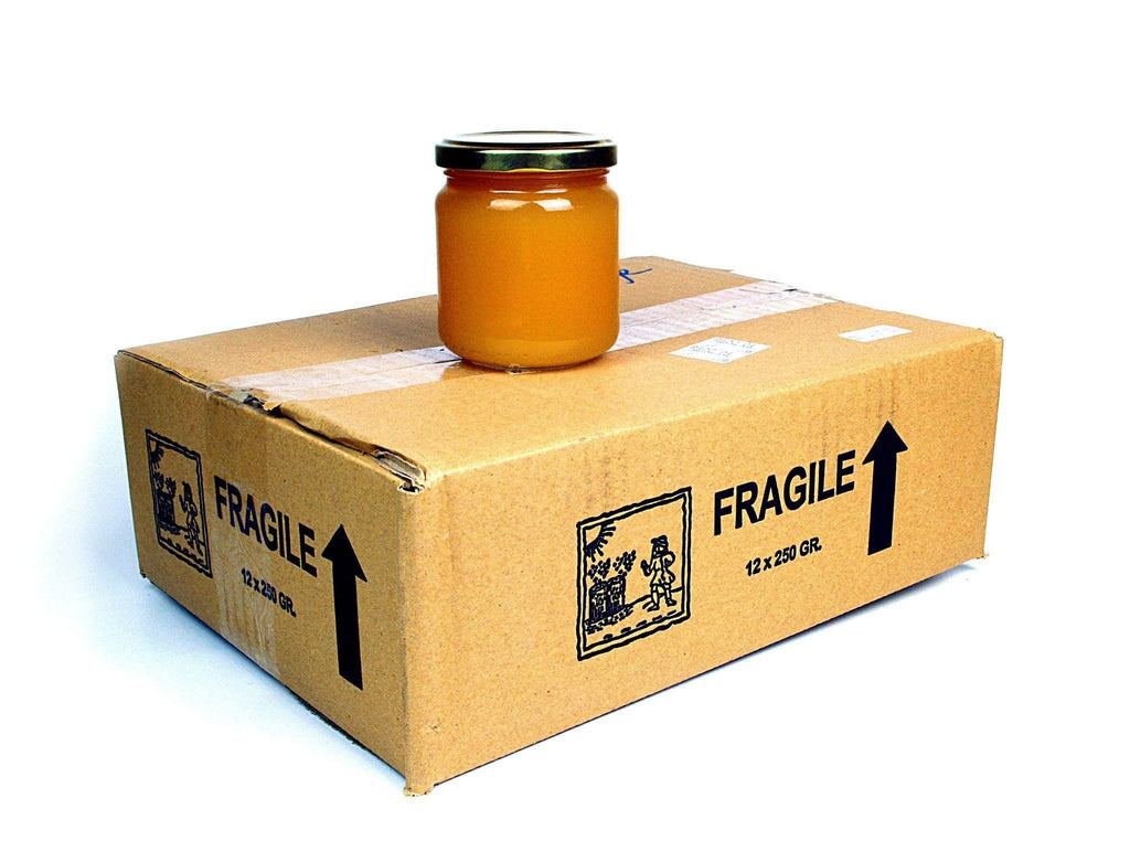 Pure and Natural Bargain Box: Raw Orange Blossom Honey - 12 x 250g - The Raw Honey Shop