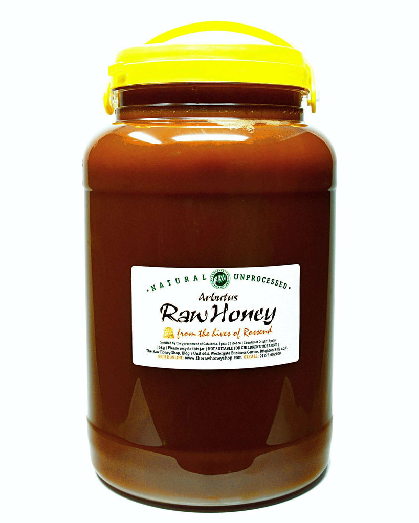 Pure and Natural Raw Arbutus Honey - 5kg - The Raw Honey Shop