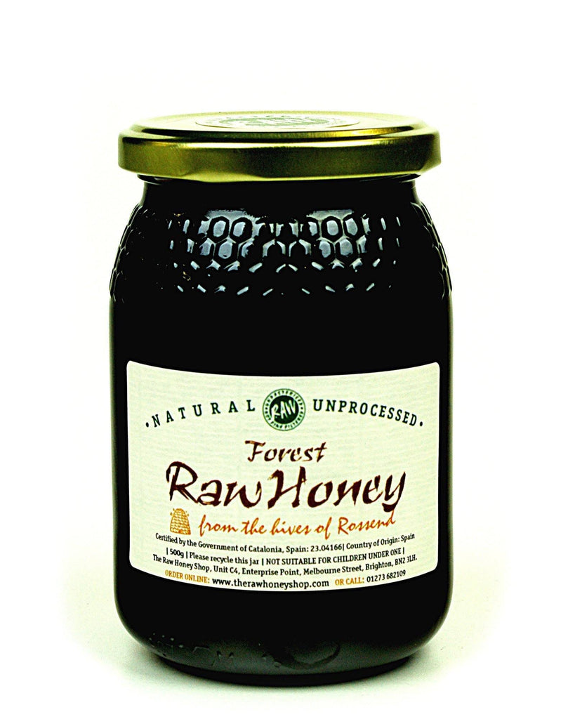 Pure and Natural Raw Forest Honey - 500g - The Raw Honey Shop