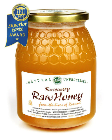 Pure and Natural Raw Rosemary Honey - 1kg - The Raw Honey Shop