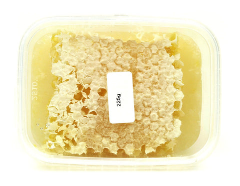 Pure and Natural Raw Rosemary Honeycomb - approx 225g - The Raw Honey Shop