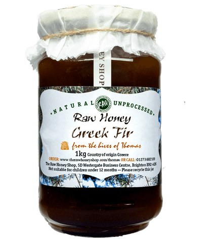 Artisan Raw Greek Fir Honey - 1kg