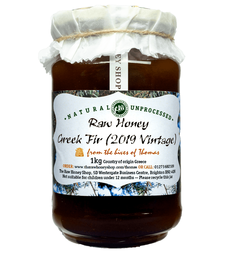 Artisan Raw Greek Fir Honey (2019 Vintage) - 1kg
