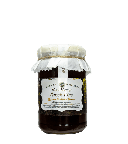 Artisan Raw Greek Pine Honey - 490g