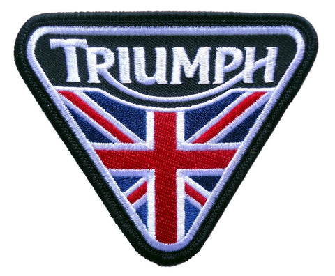Triumph rectangle patch