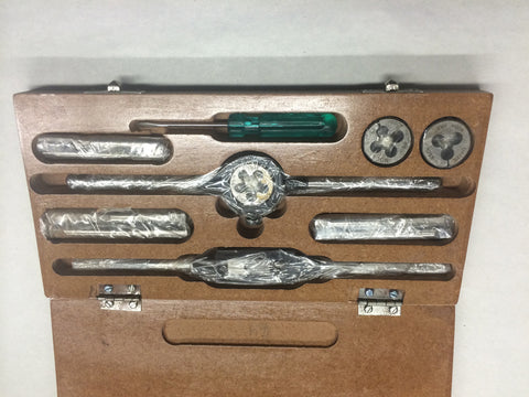 TAP AND DIE SET WHITWORH THREAD REPAIR-TRIUMPH