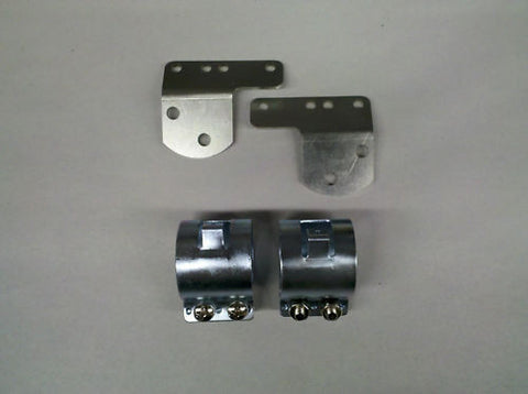 COIL CLAMPS AND BRACKET, 500,650 66-70-TRIUMPH