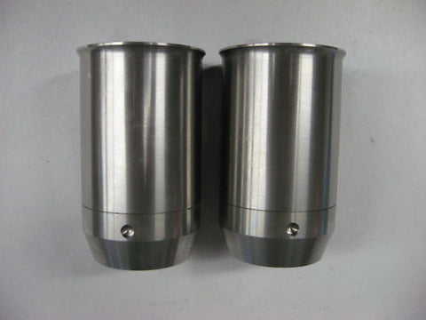 TRIUMPH FORK SEAL HOLDER CUP 64-68 STAINLESS
