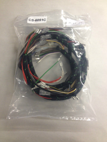 Wiring Harness 1971-1972 Trident T150 Cloth-Triumph