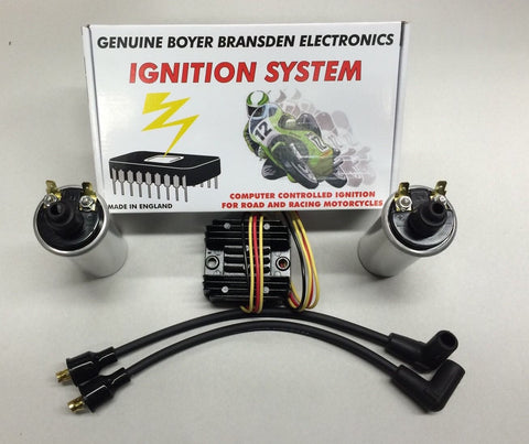 Electronic Ignition Voltage Regulator Update Kit 650 Triumph Twins 1963-1970