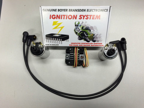 Electronic Ignition Voltage Regulator Update Kit 650 750 Triumph Twins 1971