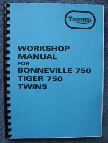 T140 work shop manual 73-78