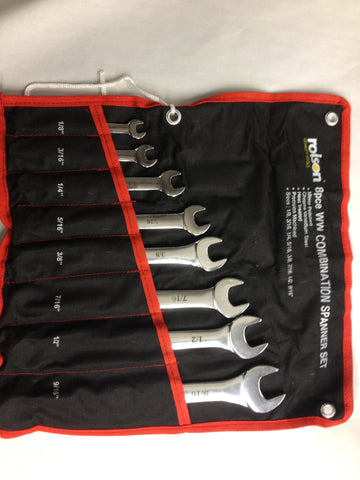Whitworth 8 Piece Wrench Set Triumph Norton BSA