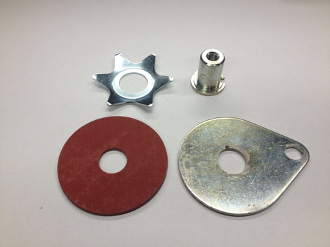 STEERING DAMPER PARTS 67-70 650 500 ALL MODELS-TRIUMPH