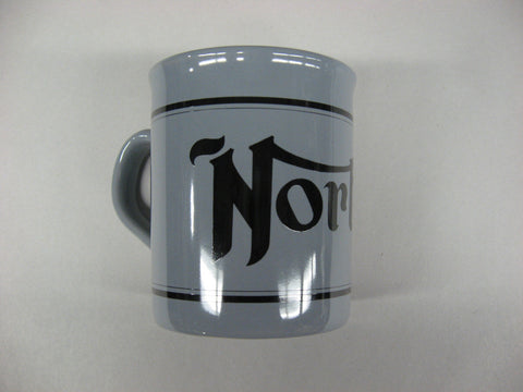 NORTON MUG GREY AND BLACK
