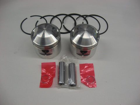 TRIUMPH 650 .080 PISTONS AND RINGS JCC EMGO