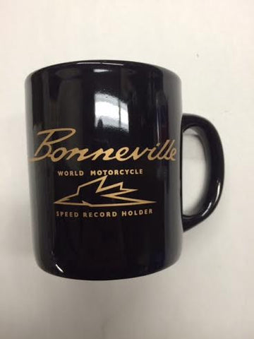 Mug-Bonneville Black with Gold Logo