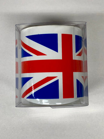 Mug-White with British Flag