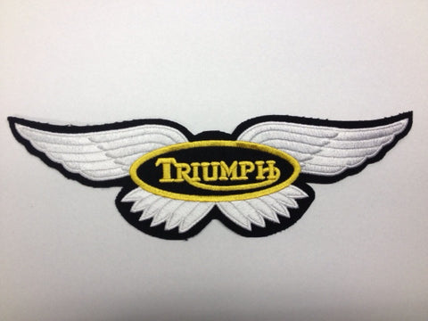 TRIUMPH WINGED PATCH