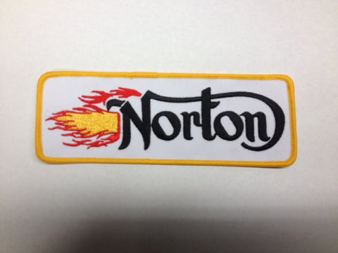 NORTON FLAMES PATCH