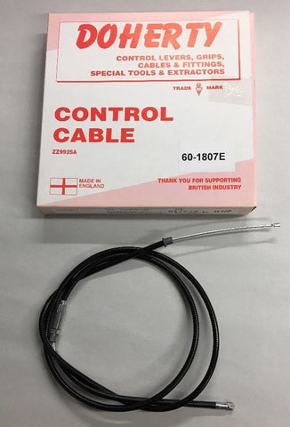 Single Choke Cable 1967-78 930 Concentric Carbs TR6 TR7