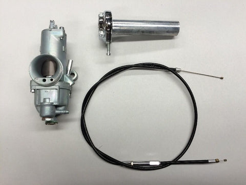 AMAL 930 CARBURETOR RIGHT HAND W/THROTTLE AND CABLE SINGLE CARB MODELS-BSA