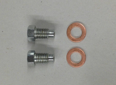 TAPPET BLOCK BOLTS WITH COPPER WASHER ALL MODELS 1945-1982 500 650 750-Triumph