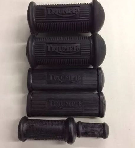 Pre Unit Foot Rest Rubber Set 500 650 47-57 for Triumph