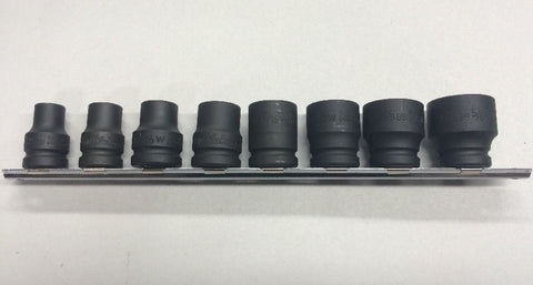 "8 Piece Whitworth Impact Socket Set 1/2"" Drive"