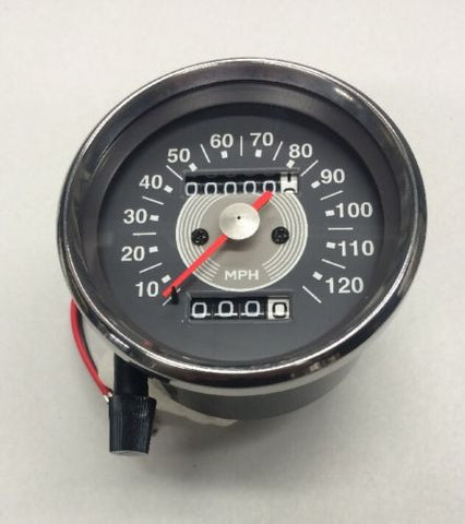 SPEEDOMETER SPEEDO GREY FACE 650 63-67 650 500 SMITHS REPLICA-Triumph
