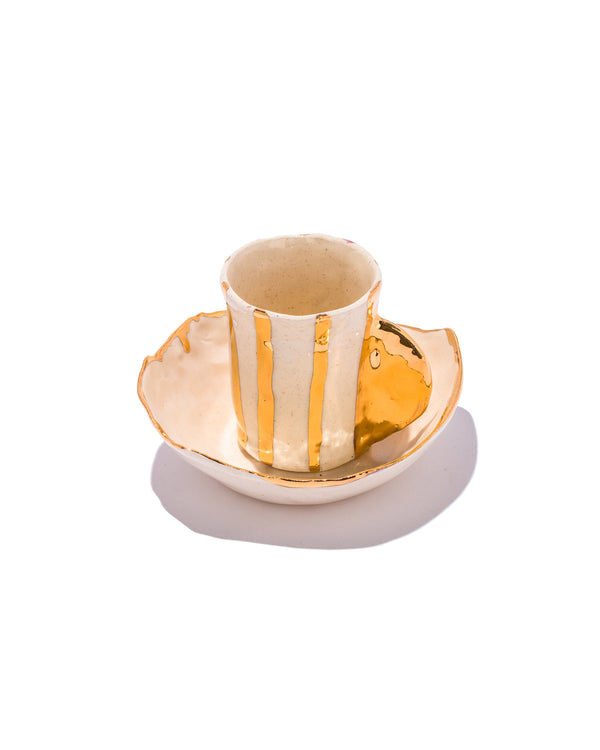 Buren Gold Cup and Saucer