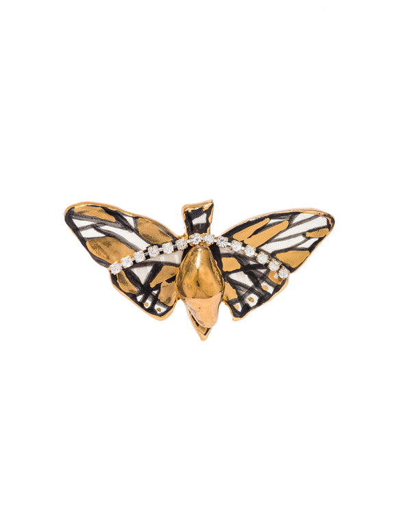 Moth Holiday Pin